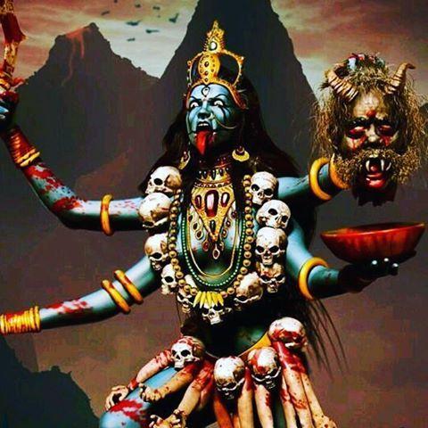 kali kreft kraft craeft goddess