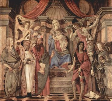 Botticelli Secret Hidden Masonic Tracing Board