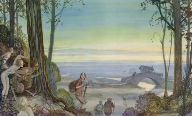 The Last Caravan, Alfred Bestall