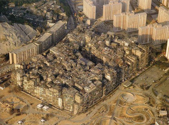 Kowloon Walled City Vampire Hidden City