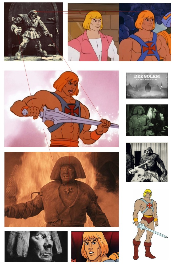 he man and the masters of the universe der golem