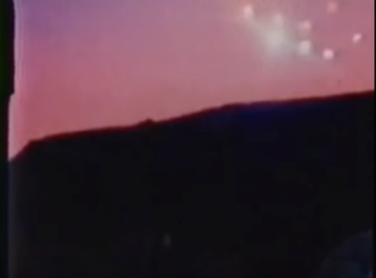 steven spielberg phoenix lights firelight 1964 explained