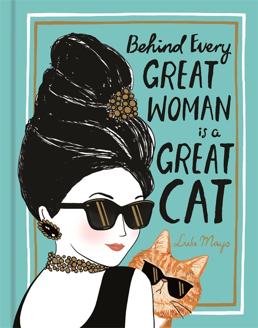 Behind Every Great Woman is a Great Cat witch and cat witchcraft book behind every great woman is a great cat justine solomons moat