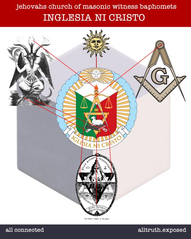 baphomet freemasonry solomon iglesia ni cristo