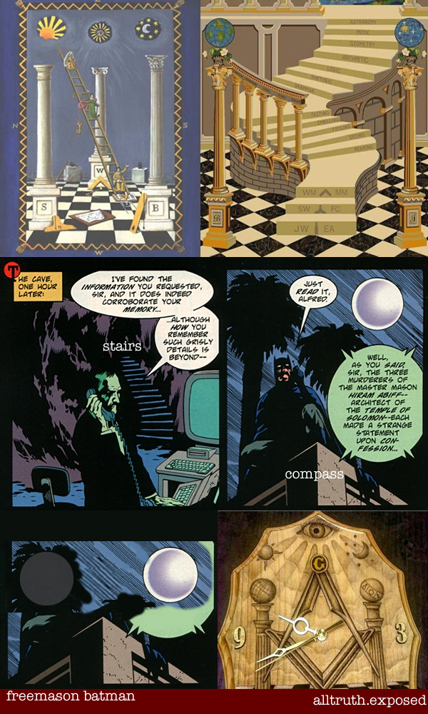 batman freemasonry esoteric hidden meaning winding stair