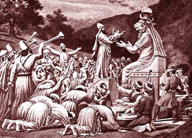 jewish disobedience kaballa baal worship children of israel