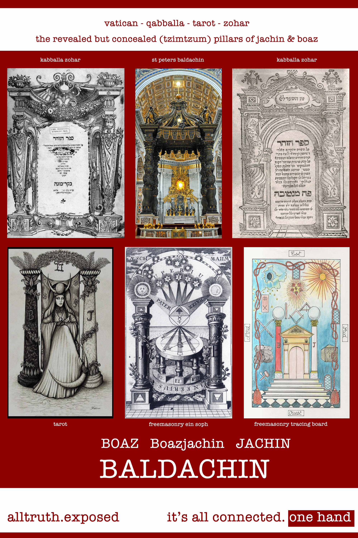 jachin boaz pillars zohar baldachin freemasonry boazjachin
