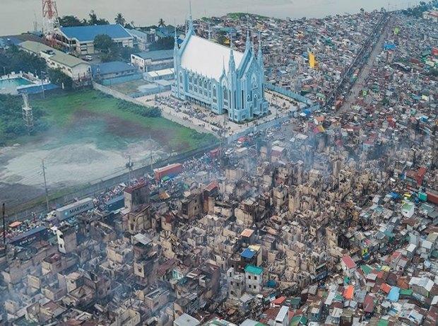 iglesia ni cristo overhead slum