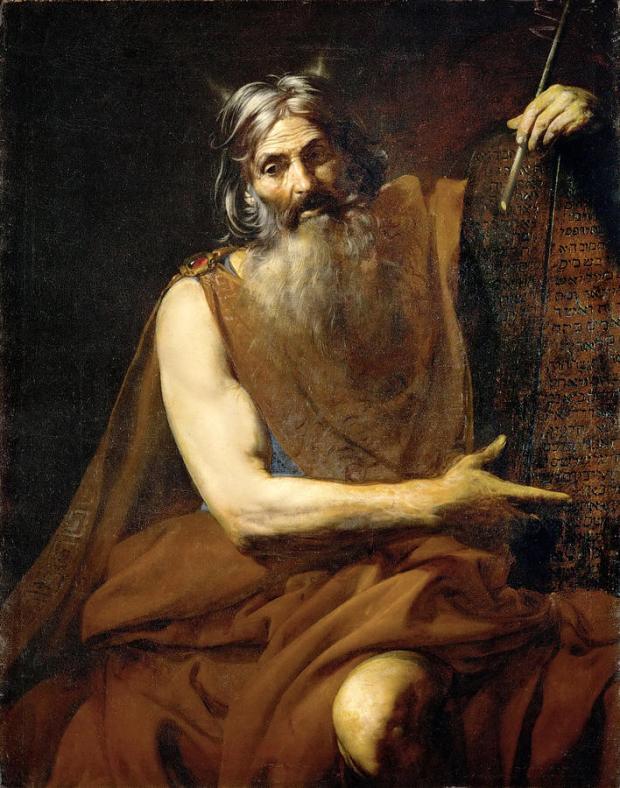 Moses Valentin de Boulogne Kabbalah Double Arches