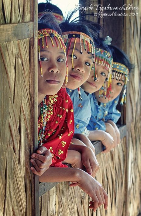 Philippines Pagan Bagobo Tagabawa tribe in the highlands of Tibolo