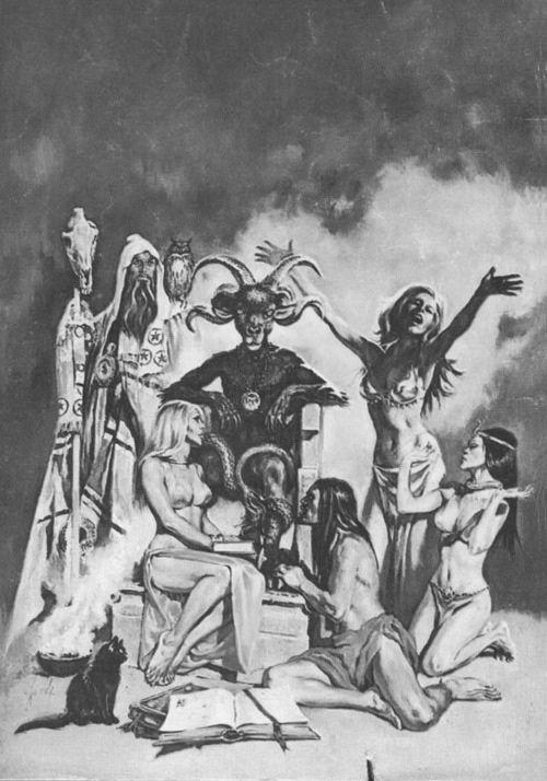 Baphomet Satanism Rams Horns Feminine Divinity Womb Ovaries Wicca