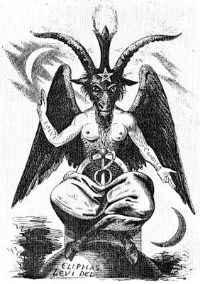 Baphomet Theranos Solve-et Coagula Blood Cult
