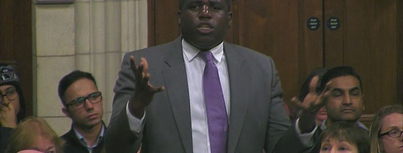 david lammy condems all existence for the horrors of slavery