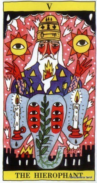 Ein Soph Kabbalah Tarot Tsimtsum Eyes Without a Face