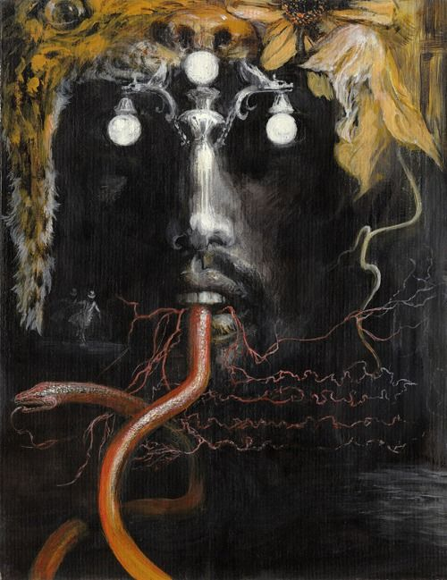 Eyes Without a Face Kabbala Santiago Caruso Esoteric Tsimtsum