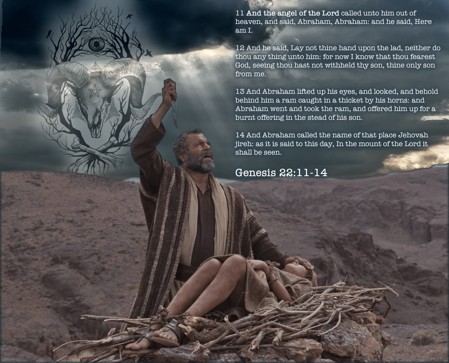 Genesis 22 Satan is the Ram in Thicket
