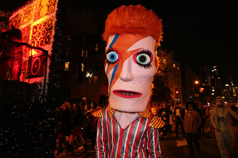 halloween ziggy stardust david bowie greenwich village