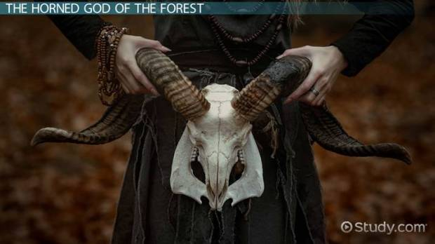 Horned God of the Forest the Ram Womb Ovaries