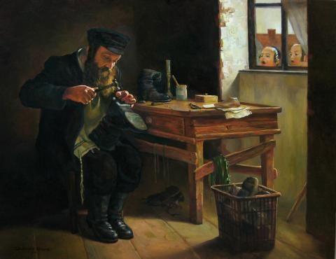 Jewish Cobbler Shoemaker Kabbalah