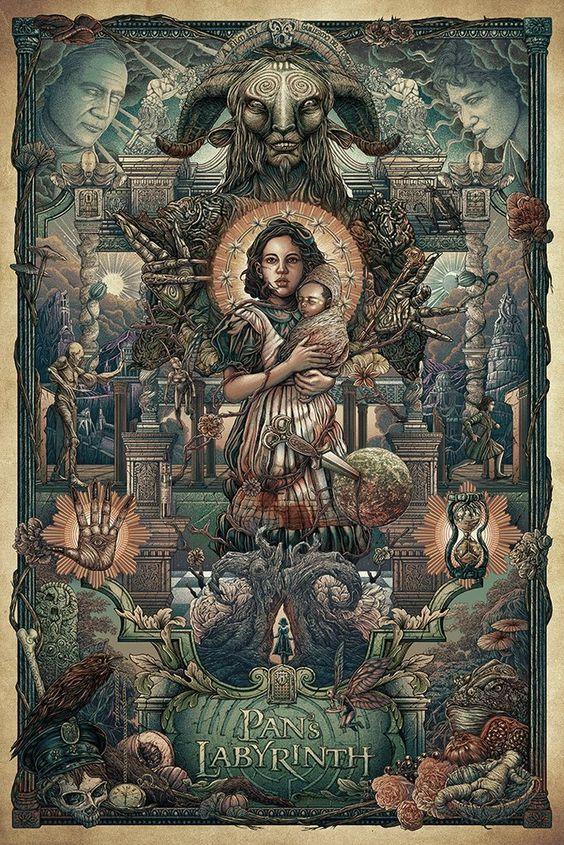 Princess of the Moon Pans Labyrinth Kabbala