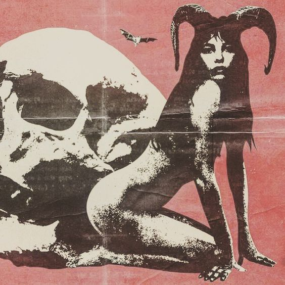 Ram Baphomet Divine Feminine Ovaries Womb
