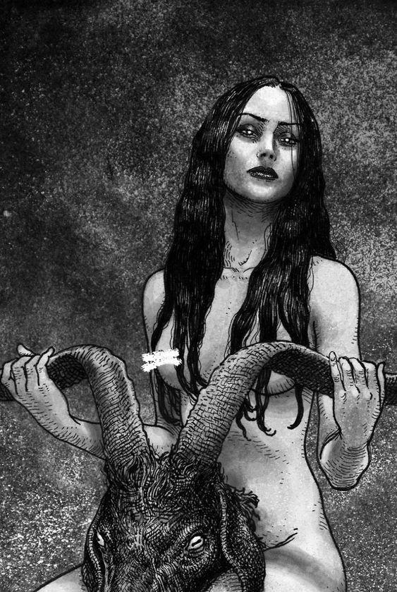 Ram Divine Femininity Witchcraft Womb Magick Ovaries