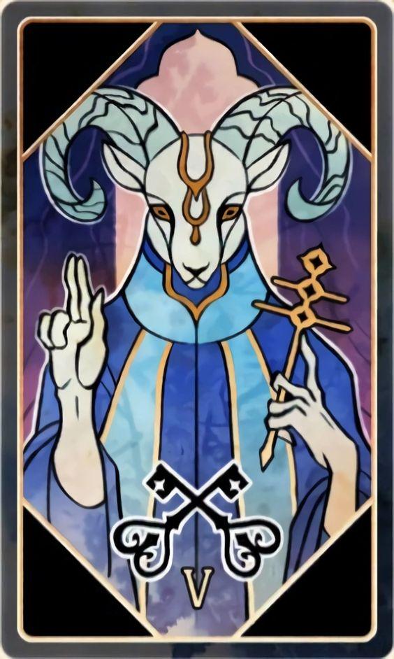 The Heirophant Tarot Divine Femininity Kabbala