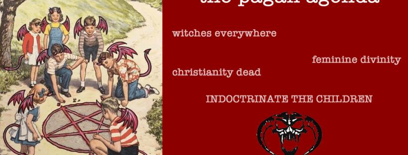 pagan agenda modern female satanists wicca pagans kabballa
