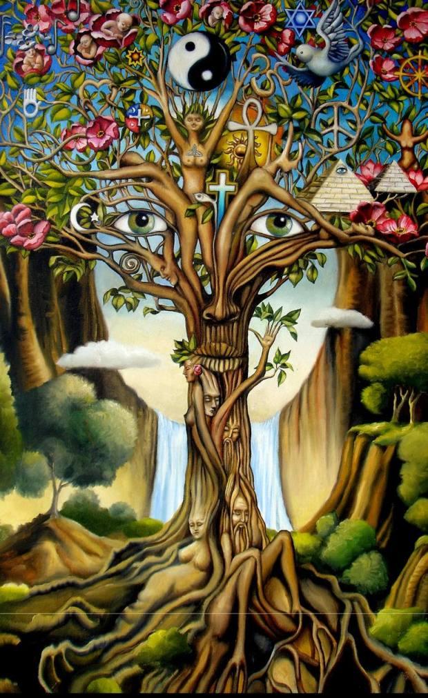 Tree of Life Gary Soszyynski Kabbalah