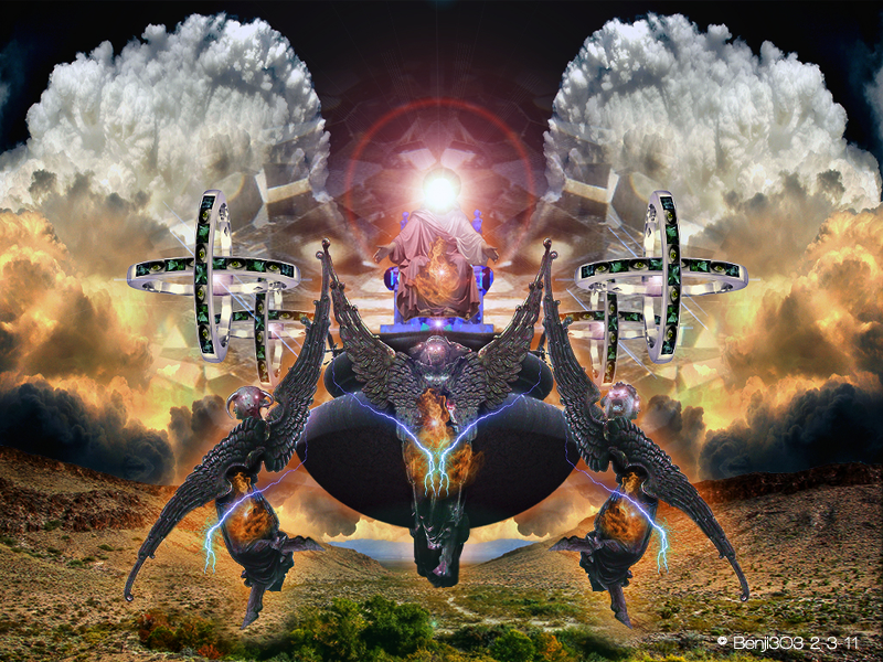 Tzimtzum Occult Symbolism Ezekiels Vision