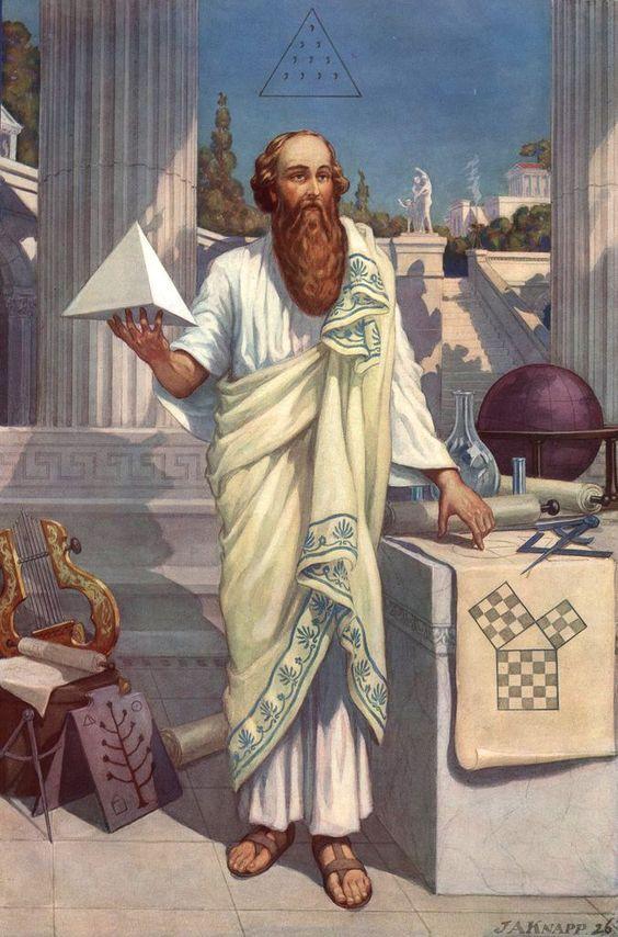 As Above  So Below Pythagoras Freemasonry
