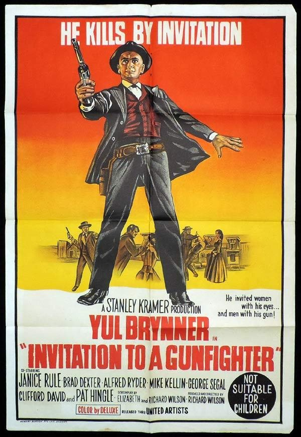 As Above so Below Tarot Yul Brynner Invatation to a Gunfighter