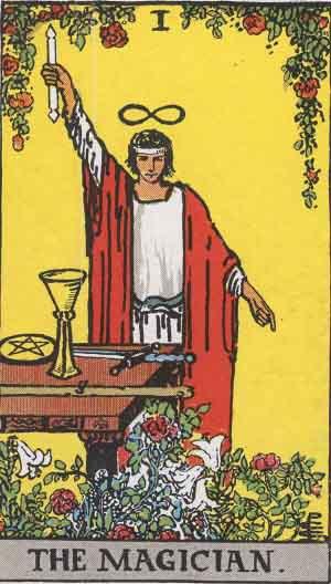 Tarot The Magician As Above So Below Kabbalah
