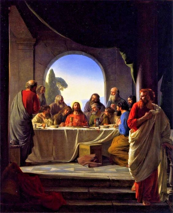 Biblical Veil Hidden in art Esoteric Meaning Last Supper
