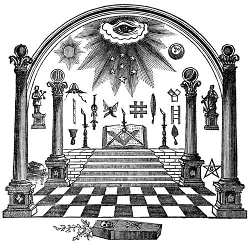 Freemasonry Tracing Boards Flat Earth