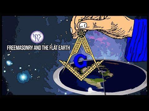 Freemasons and Flat Earth Beliefs