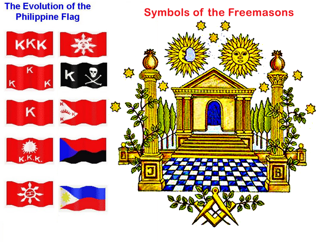 Freemasonry Philippines Masonic Flag Evolution