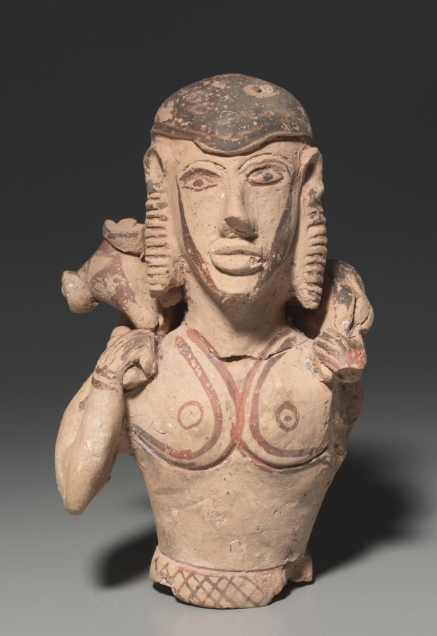 Hermes Kriophoros Ringlets Ram Bearer Horns