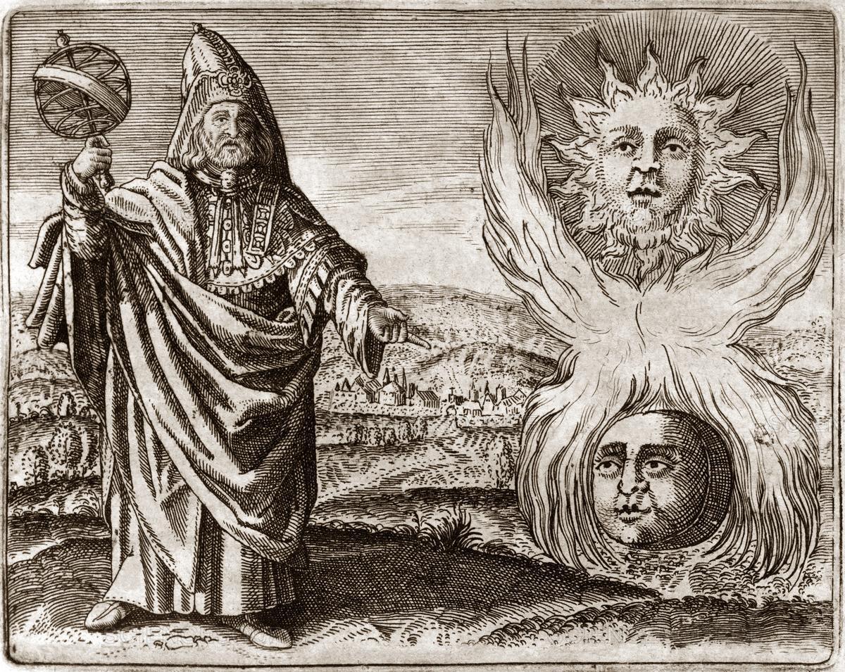Hermes Trismegistus Ram in Thicket Horns 1