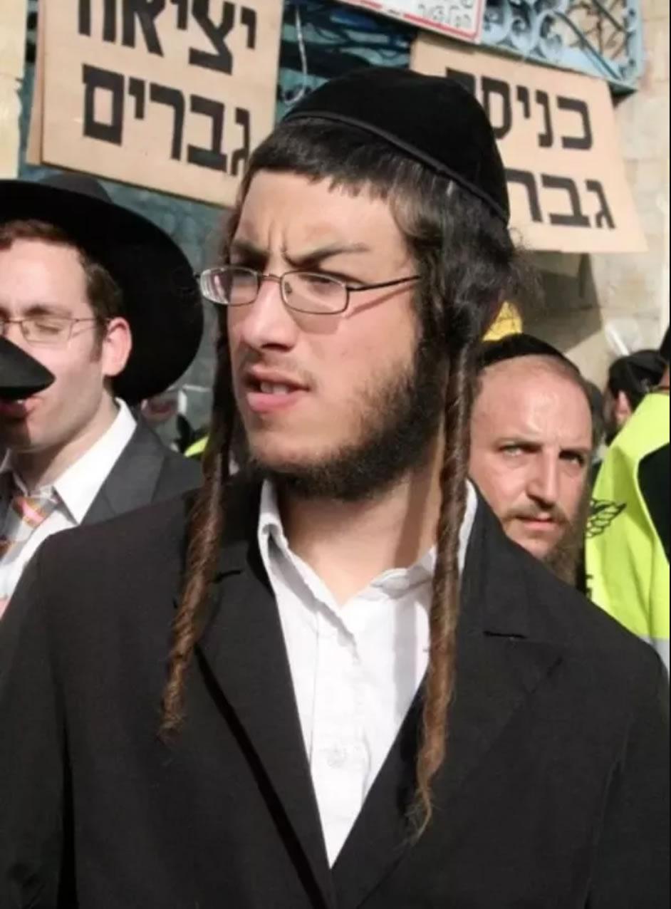 Jewish Ringlets Rams Horns Baphomet