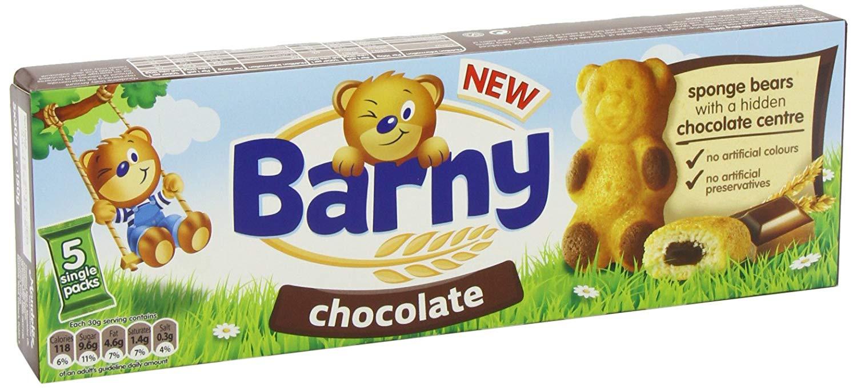 Barny Bear Sponge Kraft Wink Secret