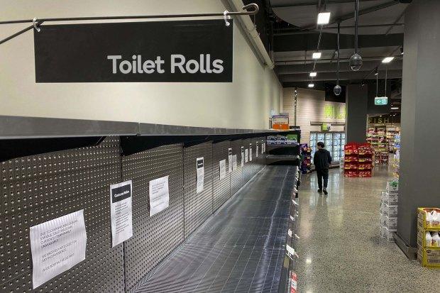 Coronavirus Toilet Roll Panic Buying Media Hoax