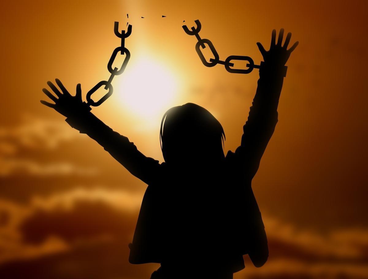 Corona Virus Figures Caged Humans Self Imprisoned