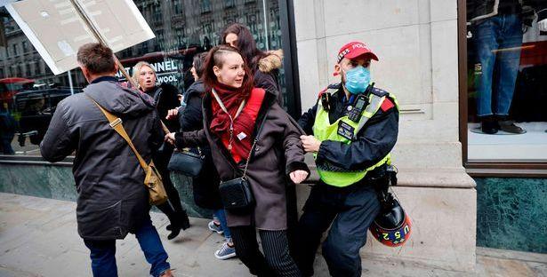 London Lockdown Protests Media Lockdown